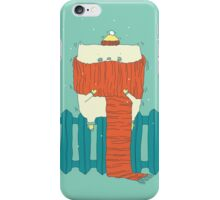 frozen cat, winter cat iPhone Case/Skin