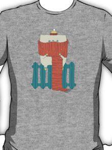 frozen cat, winter cat T-Shirt