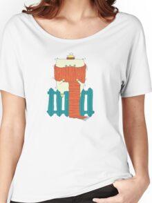 frozen cat, winter cat Women's Relaxed Fit T-Shirt