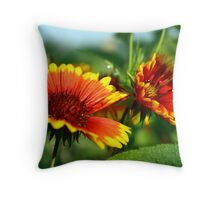 The Sun Is Coming Throw Pillow