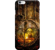 Old Train Headlight iPhone Case/Skin