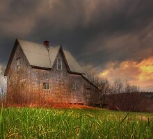 Old House at Apohaqui by Jamie Roach