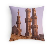 Al Azhar Mosque Cairo Throw Pillow