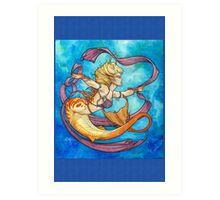 Mermaid Dancer Art Print