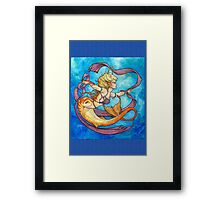 Mermaid Dancer Framed Print