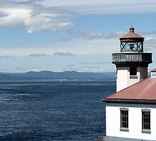 Lime Kiln Point Lighthouse by pinklilypress