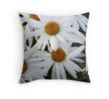It's Getting Crowded Throw Pillow