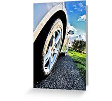 Porsche Boxster Greeting Card