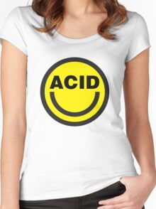 Acid House Women's Fitted Scoop T-Shirt