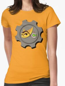 Ratchet and Clank - Gears of Frienship Womens Fitted T-Shirt