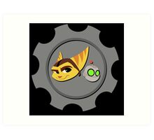 Ratchet and Clank - Gears of Frienship Art Print
