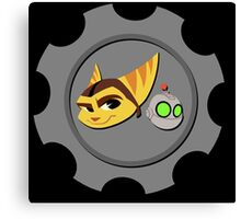 Ratchet and Clank - Gears of Frienship Canvas Print