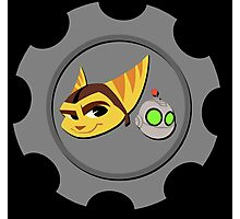 Ratchet and Clank - Gears of Frienship Photographic Print