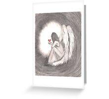 Can A Broken Heart Still Shine? Greeting Card