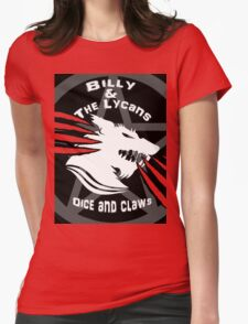 Billy and the lycans Womens Fitted T-Shirt