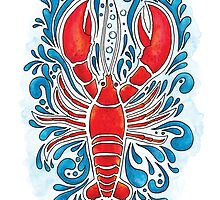Red Lobster by Breanna Cooke