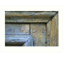 Old Door Detail (1) Art Print