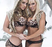 Bikinis In The Snow by Greg Desiatov