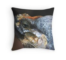Monitor Lizard Throw Pillow