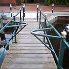 bridge over troubled waters/Diaetbruecke in Ostfriesland by Werner Franke