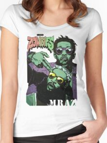 Flatbush Zombies Mraz Women's Fitted Scoop T-Shirt