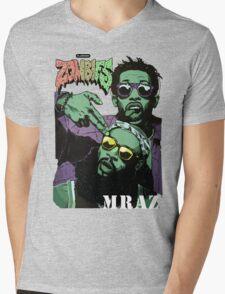 Flatbush Zombies Mraz Mens V-Neck T-Shirt