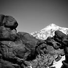 Teide black n white by Raico Rosenberg