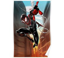 Miles Morales Ultimate Spiderman Poster
