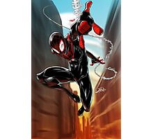 Miles Morales Ultimate Spiderman Photographic Print