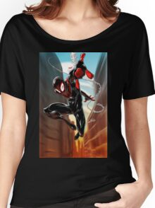Miles Morales Ultimate Spiderman Women's Relaxed Fit T-Shirt