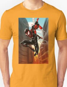 Miles Morales Ultimate Spiderman Unisex T-Shirt