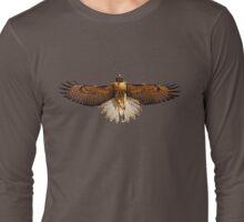 Red Tailed Hawk Tee Long Sleeve T-Shirt