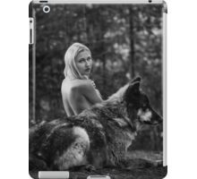 A Wolf and His Girl - Protector  iPad Case/Skin