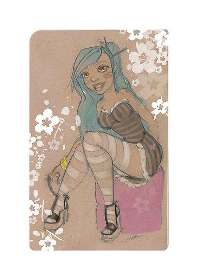 Lolita & Blossoms by Erica Rosario
