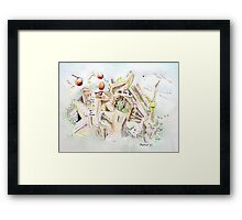 Habitat Framed Print
