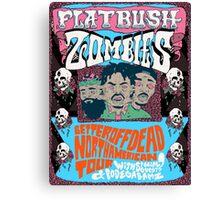 Flatbush Zombies Better Off Dead Poster Constellation Canvas Print