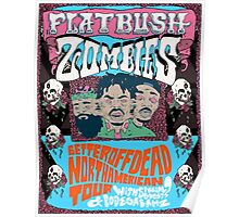 Flatbush Zombies Better Off Dead Poster Constellation Poster