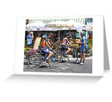 Giro de Italia in Amalfi Greeting Card