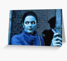 Lynda Carter Undead Greeting Card