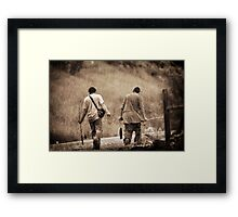 Successful Day Fishing Framed Print