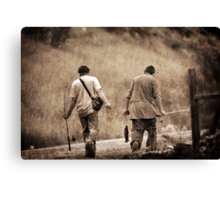Successful Day Fishing Canvas Print