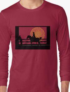 Cowgirl  -  Collaboration Brunet & Brunet Long Sleeve T-Shirt