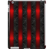 Red Ribbon Stripes iPad Case/Skin