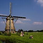 Dutch Windmill by AnnieSnel