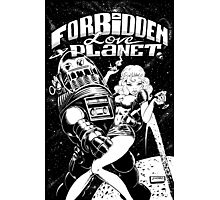 FORBIDDEN LOVE PLANET Photographic Print