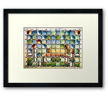 "Sunrise - watercolor - 15"" x 11"" Framed Print"