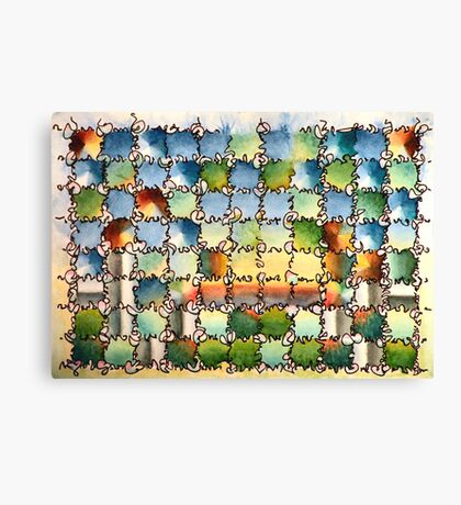 "Sunrise - watercolor - 15"" x 11"" Canvas Print"