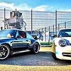 Porsche Old School v's New School by justhypemedia