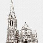 Christchurch Cathedral, Christchurch, New Zealand by Shamus Macca
