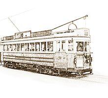 Christchurch Tram, New Zealand by Shamus Macca